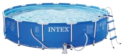 28234 Каркасный бассейн Intex Metal Frame 457 см х 107 см.
