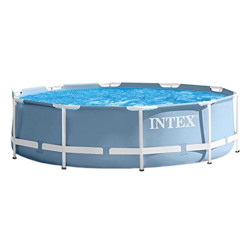 28712 Каркасный бассейн Intex Prism Frame Pool (366 х 76 см) + фильтрующий картриджный насос
