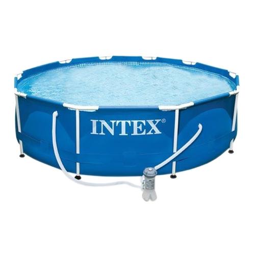 Каркасный бассейн Intex 28212 (56996), 366 см х 76 см. с фильтр-насосом