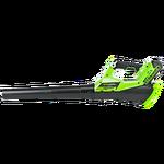 Воздуходув аккумуляторный Greenworks G40AB, 40V, без АКБ и ЗУ
