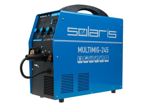 Полуавтомат сварочный Solaris MULTIMIG-245 (MIG/MMA/TIG)
