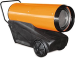 Тепловая пушка на дизтопливе прямого нагрева ПРОФТЕПЛО ДК- 45П (апельсин) с дисплеем (8095590)