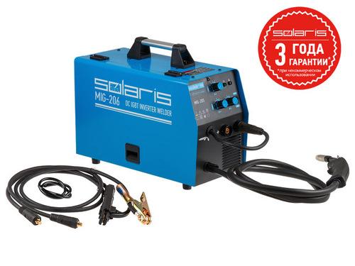 Полуавтомат сварочный Solaris MIG-206 (MIG/MMA)