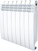 Радиатор ROYAL THERMO Biliner 500 -  8 секций биметалл Bianco Traffico