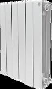 Радиатор ROYAL THERMO Pianoforte 500 -  8 секций биметалл Bianco Traffico