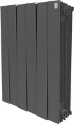 Радиатор ROYAL THERMO Pianoforte 500 -  6 секций биметалл Noir Sable