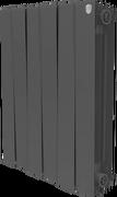 Радиатор ROYAL THERMO Pianoforte 500 -  8 секций биметалл Noir Sable