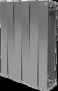 Радиатор ROYAL THERMO Pianoforte 500 -  8 секций биметалл Silver Satin