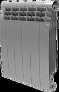 Радиатор ROYAL THERMO Biliner 500 -  8 секций биметалл Silver Satin