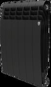 Радиатор ROYAL THERMO Biliner 500 -  6 секций биметалл Noir Sable