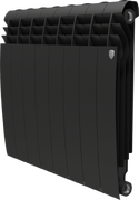 Радиатор ROYAL THERMO Biliner 500 -  8 секций биметалл Noir Sable