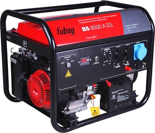 Электростанция бензиновая FUBAG BS 8500 A ES с возможностью автоматизации (838253)