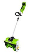 Снегоуборщик аккумуляторный Greenworks, 40V, 30 см, бесщеточный, без АКБ и ЗУ