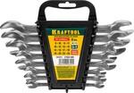 """Набор ключей рожковых хромированных KRAFTOOL """"EXPERT"""" 27033-H8C"""