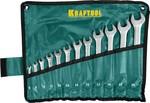 """Набор ключей гаечных комбинированных хромированных KRAFTOOL """"EXPERT"""" 27079-H12"""