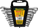 """Набор ключей гаечных комбинированных хромированных KRAFTOOL """"EXPERT"""" 27079-H8C"""