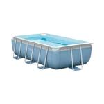 28314 Прямоугольный каркасный бассейн Intex Prism Frame Pool (300 х 175 х 80 см) + фильтрующий насос + лестница