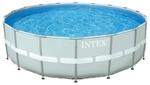28332 Бассейн каркасный Intex ULTRA FRAME 549х132 см (песочный фильтр)
