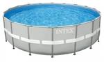 28336 Каркасный бассейн Intex Ultra Frame Pool (549 х 132 см) + песочный фильтрующий насос с хлоргенератором + аксессуары