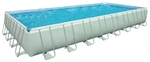 28376 Каркасный бассейн Intex Rectangular Ultra Frame Pool (975 х 488 х 132 см) + песочный фильтрующий насос с хлоргенератором + аксессуары