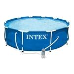 Каркасный бассейн Intex 28202, 305 см х 76 см. с фильтр-насосом