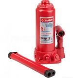 Домкрат гидравлический бутылочный ЗУБР 5 т, 216-413 мм