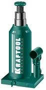 Гидравлический бутылочный домкрат двухштоковый KRAFTOOL DOUBLE RAM 43463-8