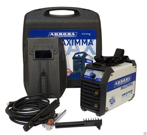 Сварочный инвертор Aurora MAXIMMA 2000 с аксессуарами в кейсе
