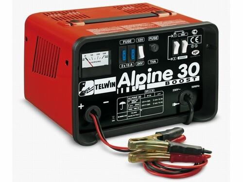Зарядное устройство TELWIN ALPINE 30 BOOST (12В/24В)