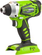 Шуруповерт ударный аккумуляторный Greenworks G24ID, 24V, без АКБ и ЗУ