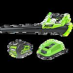 Воздуходув аккумуляторный Greenworks G40ABK4, 40V, с 1хАКБ 4 А.ч и ЗУ