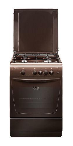 Газовая плита GEFEST 1200 С7 К19, газовая духовка, коричневый