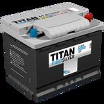 Аккумулятор TITAN EUROSILVER 6СТ-61.0 VL о.п.  (620А)