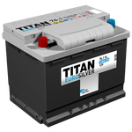 Аккумулятор TITAN EUROSILVER 6СТ-76.1 VL п.п.  (730А)