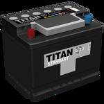 Аккумулятор TITAN STANDART 6СТ-55.1 VL п.п.  (470А)