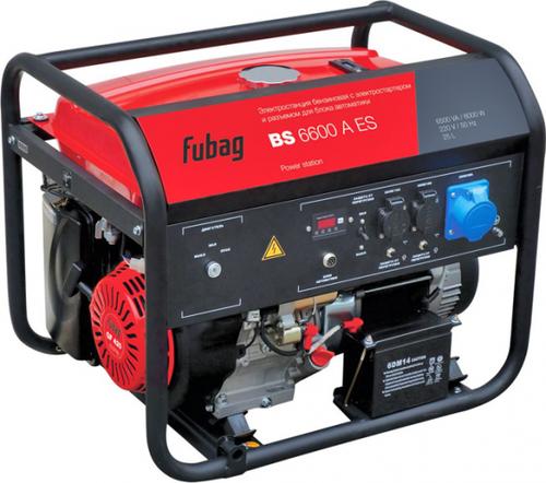 Электростанция бензиновая FUBAG BS 6600 A ES с возможностью автоматизации (838204)