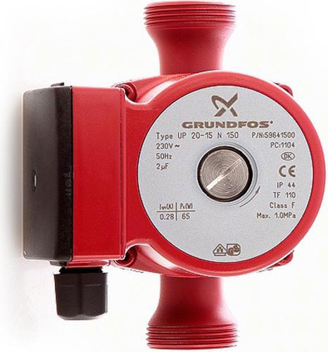 Насос циркуляционный GRUNDFOS UP 20-15 N 59641500 (59641500)