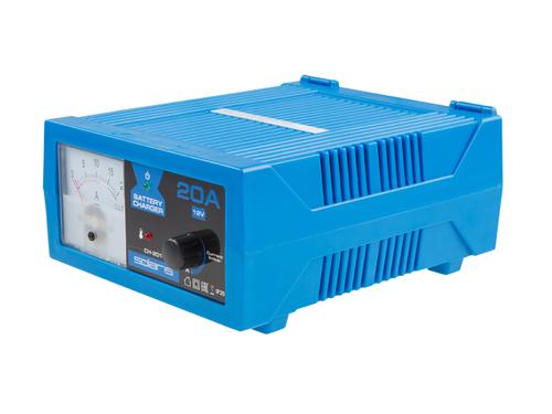 Зарядное устройство Solaris CH-201 (12В; 20А; регулировка тока)