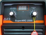 Сварочный аппарат инверторный REDBO SuperARC 2500 (MMA)