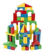 Игровой набор Melissa & Doug цветных блоков (481M)