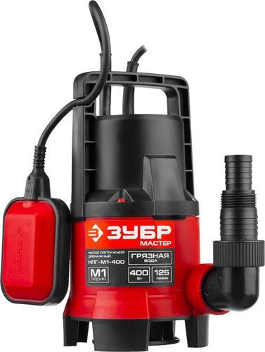 Насос погружной дренажный для загрязненной воды ЗУБР НПГ-М1-400