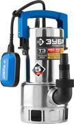 Насос погружной дренажный для грязной воды ЗУБР НПГ-Т3-550-С