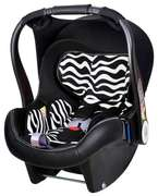 Автокресло Welldon Diadem Zebra