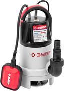 Насос погружной для загрязненной воды ЗУБР ЗНПГ-400