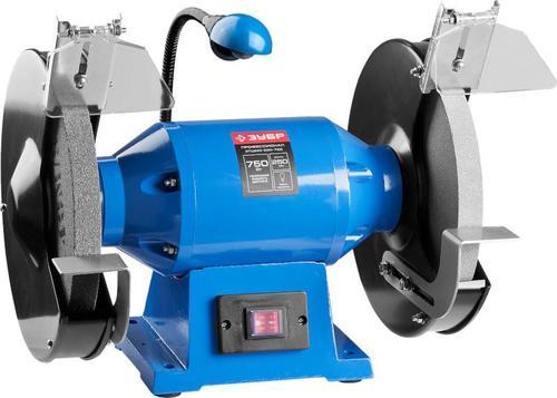 Станок точильный электрический ЗУБР ЗТШМЭ-250-750