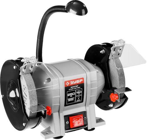 Станок точильный электрический ЗУБР ЗТШМ-150-250