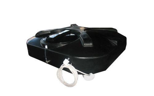 Бак с подогревом для дачного душа 250 литров