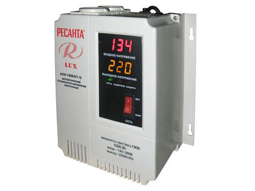 Стабилизатор Ресанта АСН-1500Н/1-Ц Ресанта Lux