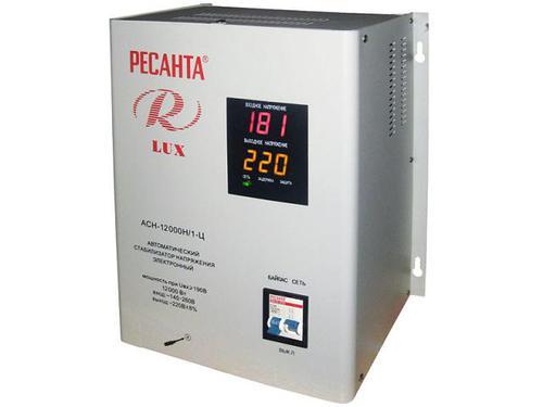Стабилизатор Ресанта АСН-12000 Н/1-Ц Ресанта Lux
