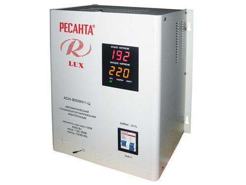 Стабилизатор Ресанта АСН-8000 Н/1-Ц Ресанта Lux